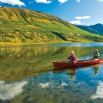 canoeing in Alaska