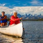 canoeing in Alaska