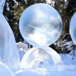Alaska ice sculpture