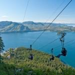 Alaska zipline