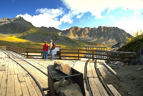 Alaska Hatcher Pass. Independence Gold mine